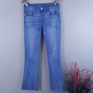 American Eagle Outfitters Kick Boots Stretch Jeans